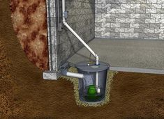 Bix Basement Systems provides sump pump systems and installations to homeowners in Macomb, Quincy, Peoria, Hannibal & Kirksville. Contact us today, to receive a free estimate for high capacity sump pumps! Basement Toilet, Dry Basement, Flooded Basement, Basement Flooring, Basement Remodeling, Basement Waterproofing, Basement Decorating, Basement Apartment, Basement Walls