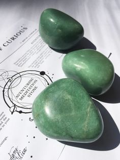 Aventurine meditation stones give off high vibration healing energy. They will help you on your journey to a calm state.