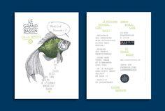 Flyer/Expo nomade/Basilic café/Le Grand Bassin/2012