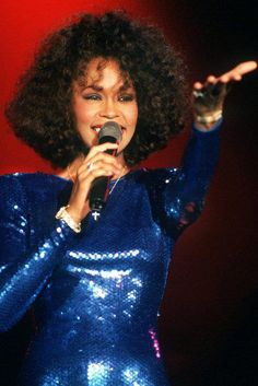 Whitney...the best singer to ever hold a microphone.