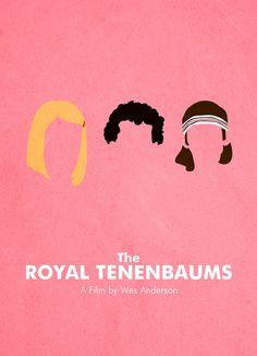 Royal Tenenbaums minimalist. AUUUUGH AMAZING.