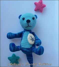 The Sea Otters crochet pattern on Ravelry.