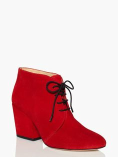 I'm totally in love with the Kate Spade roger boots