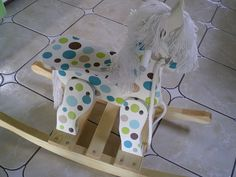painted rocking horse | hand painted rocking horse | Flickr - Photo Sharing!
