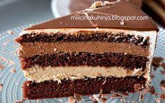 Torte Recepti, Kolaci I Torte, Bakery Recipes, Dessert Recipes, Desserts, Food Cakes, Cupcakes, Cupcake Cakes, Bajadera Recipe