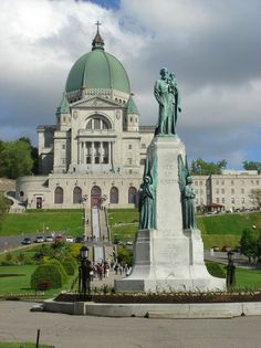 St. Joseph's Oratory of Mount-Royal is the largest shrine dedicated to Saint Joesph in the world.