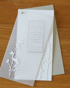 Good Cost-Free Paper Crafts wedding Suggestions Hence, you have chosen in which paper crafts will be wherever you would want to commence your develo Paper Cards, Diy Cards, Sympathy Cards, Greeting Cards, Scrapbook Cards, Scrapbooking, Wedding Cards, Wedding Invitations, Karten Diy