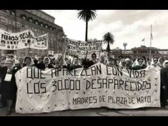 Argentina's Dirty War - YouTube (2:44 min.)  Brief into.