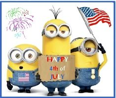 4th of july minions wallpaper - photo #2