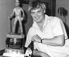 Ernie Hunter and prize-winning sauvignon blanc