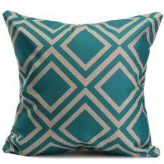 NEW-Simple-Retro-Square-Home-Bedroom-Decor-Seat-Back-Pillow-Case-Cushion-Cover