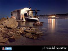 La casa del pescatore. La foto del giorno di Mirco Pusceddu