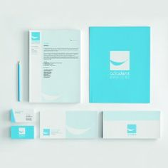 Business cards and stationery design for Adadent - dental clinic