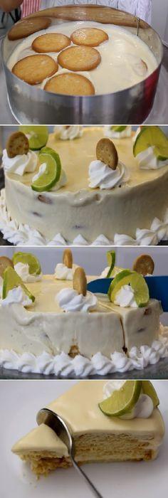 """A mi me fascina el pay de limón o Carlota de limón """"Postre sin horno"""" #paydelimón #pay #carlota #sinhorno #cheesecake #vainilla #postres #receta #recipe #casero #torta #tartas #pastel #nestlecocina #bizcocho #bizcochuelo #tasty #cocina #chocolate #pan #panes Si te gusta dinos HOLA y dale a Me Gusta MIREN…"""
