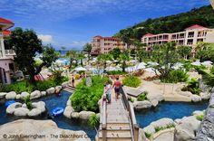 Karon Beach, Phuket. It's a theme park of waterways and fun for children at the heart of Centara Grand Phuket.