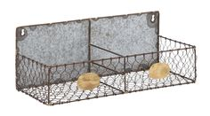 Woodland Imports Hand Crafted Metal Wire Wall Rack & Reviews | Wayfair