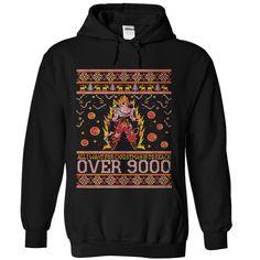 Goku 9000 Christmas Hoodie T-Shirts, Hoodies. BUY IT NOW ==► https://www.sunfrog.com/TV-Shows/Goku-9000-Christmas-Hoodie.html?id=41382
