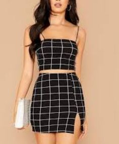 Girls Fashion Clothes, Teen Fashion Outfits, Girly Outfits, Cute Casual Outfits, Skirt Outfits, Pretty Outfits, Stylish Outfits, Casual Dresses, Teen Clothing