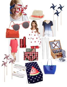 4th of july outfit ideas patriotic parade wear ootd
