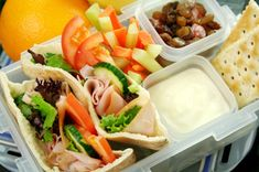 Easy School (and work) lunches