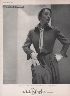 Pattullo-Jo Copeland for Spring 1950 from The William H. Block Co. , Indianapolis by moviemag47, via Flickr