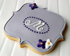 MY LOVELY MONOGRAM BISCUIT