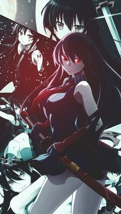 akame-Akame ga kill art,so amazing Sheele Akame Ga Kill, Anime Tatoo, Anime Zone, Juuzou Tokyo Ghoul, Otaku, Character Art, Character Design, Accel World, Chica Anime Manga