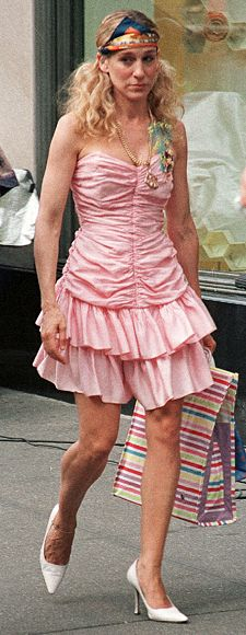 Carrie's Best Looks Ever - The Do-Rag/Prom Dress Combo from InStyle.com