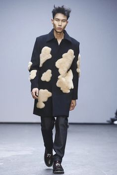 Xander Zhou Menswear Fall Winter 2015 London - NOWFASHION