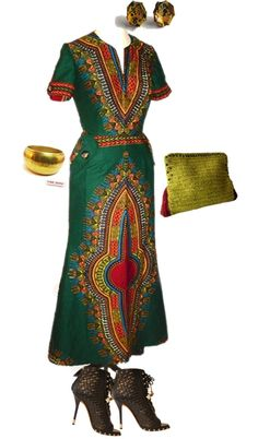 """""""African Swag!!!"""" by inivibezcreations ❤ liked on Polyvore"""