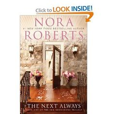 Just finished this one...another wonderful new series from Nora Roberts!