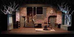 Bardic Theatre, Donaghmore, Feb 2003  Director Sean Faloon / Set Design Stuart Marshall / Lighting Design James C. McFetridge