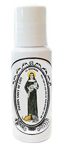 St. Gertrude Patron of Cats Fragrant Prayer Oil