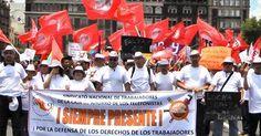 Trabajadores despedidos de la Caja de Ahorros de los Telefonistas en resistencia, demandan reinstalación