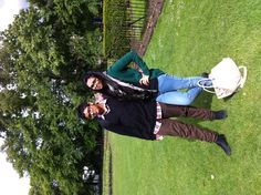 AWWW me and my brother back in Cambridge <3<3<3