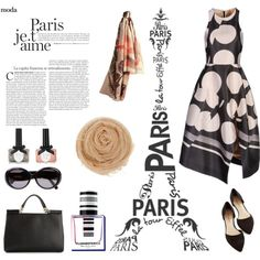 """Pretty in Paris"" by morganhina on Polyvore"