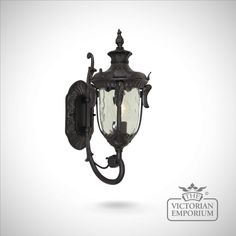 Buy Philadelphia up wall lantern in black - choice of 3 sizes, Outdoor Wall Lights - Distinctive details feature in this period lantern available in three sizes; small, medium and large. The range...