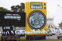 Sonegômetro e Lavanderia Brasil em Brasília