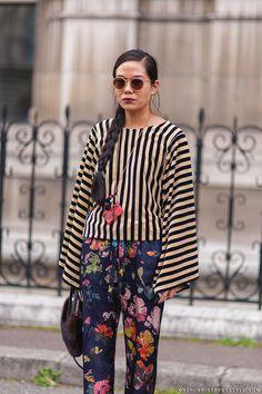 2015 street style stripe - Google 검색