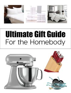 Ultimate Gift Guide for the Homebody. Need some help with Christmas gift ideas this year? This gift guide could help! www.thirtyhandmadedays.com