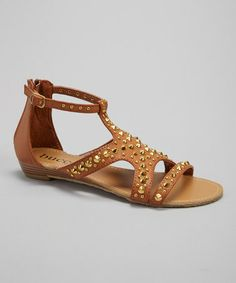 Another great find on #zulily! Tan Hava Sandal #zulilyfinds