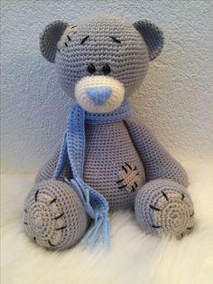 Crochet Animal Patterns, Stuffed Animal Patterns, Crochet Animals, Stuffed Animals, Crochet Teddy, Crochet Bear, Stone Crafts, Rock Crafts, Pebble Painting