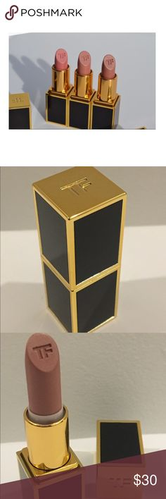 Tom Ford 💄💋 Lips & Boys Peter Lipstick New in box, never used. Tom Ford Lips & Boys in Peter. .07 ounces. Smaller size, but a lot of lipstick and the case is very chic, beautiful! Tom Ford Makeup Lipstick