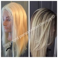 Custom color!  Natural looking thinning hair solutions. Wigs, hair pieces, toppers & more!  www.personalhairtherapy.com