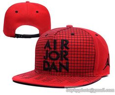 Jordan Red Snapback Hats Mesh grid|only US$8.90 - follow me to pick up couopons.