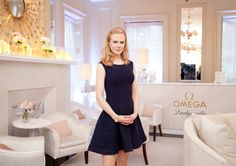 Omega brand ambassador Nicole Kidman at the opening of the Omega House, during the Olympic Games.