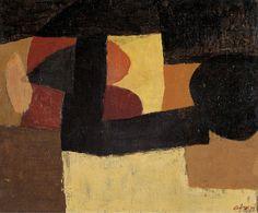 Afro Basaldella ( 1912 – 1976) Rosso di cadmio, 1973