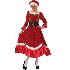 Santa Dress, Santa Outfit, Adult Costumes, Costumes For Women, Santa Costumes, Halloween Costumes, Mrs Santa Claus Costume, Female Costumes, Funny Halloween