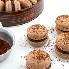 Chocolate Gingerbread Macarons