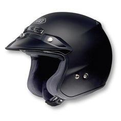 Shoei RJ Platinum-R Open Face Vintage Motorcycle Helmet